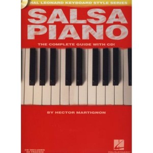 Salsa Piano The Complete Guide with CD - szkoła na fortepian (+ płyta CD)