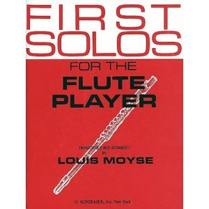 First Solos For The Flute Player - Moyse - nuty na flet z fortepianem