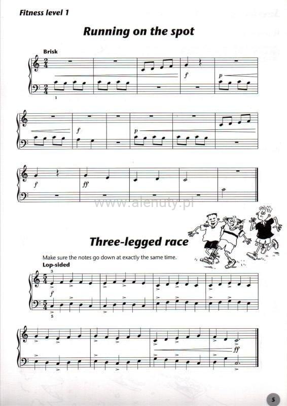 Zupełnie nowe Fiona Macardle - Piano Time Sports 1 - nuty na pianino dla dzieci QH74