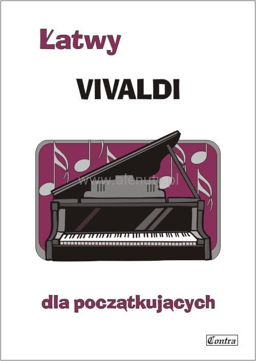 Łatwy Vivaldi - nuty na fortepian lub keyboard dla początkujących