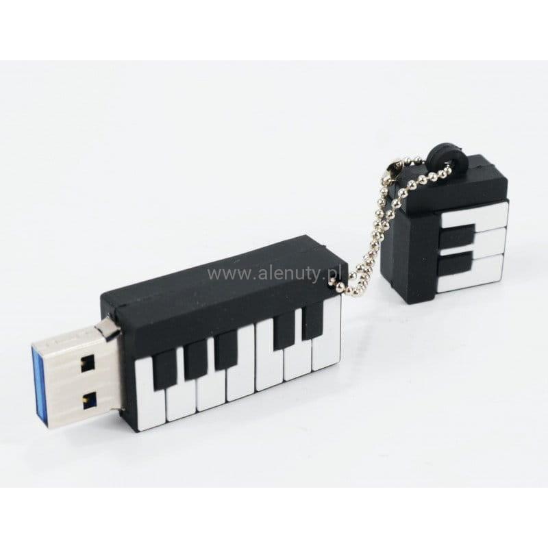 Prezent dla nauczyciela - muzyczne USB z motywem klawiatury fortepianu