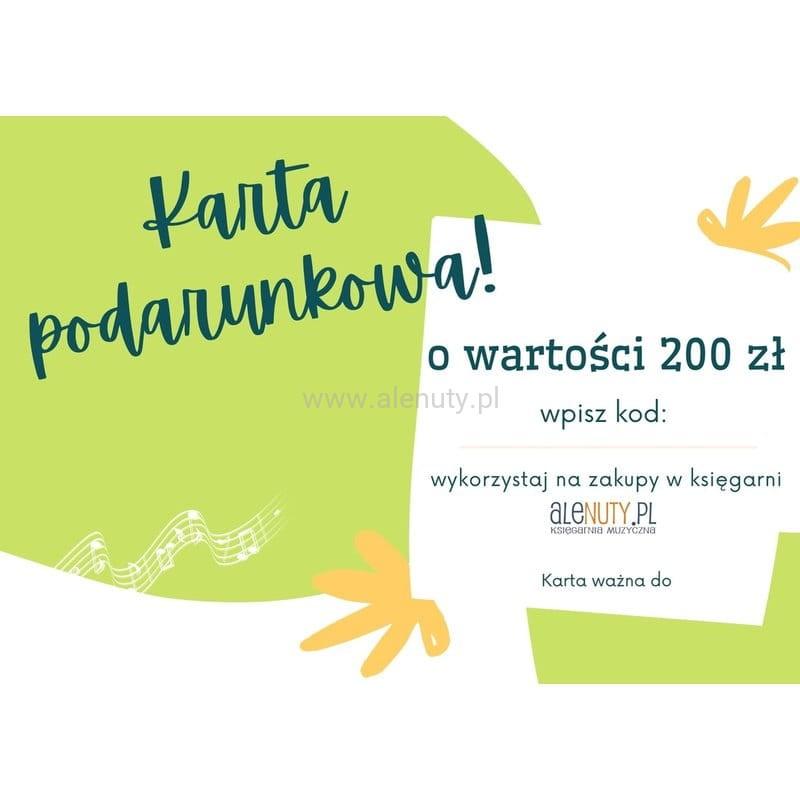 Prezent dla nauczyciela - karty podarunkowe w Alenuty.pl