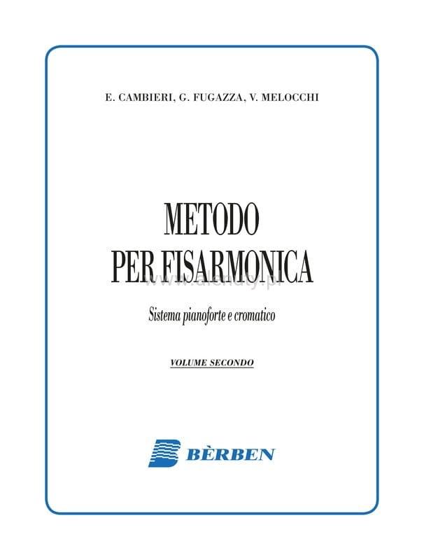 Metodo per fisarmonica Emilio Cambieri, Gianfelice Fugazza, Vittorio Melocchi