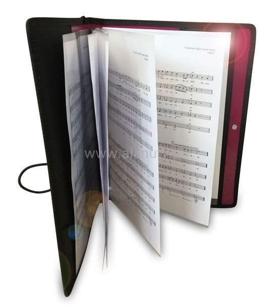 Prezent dla nauczyciela muzyki, dyrygenta - segregator na nuty chóralne