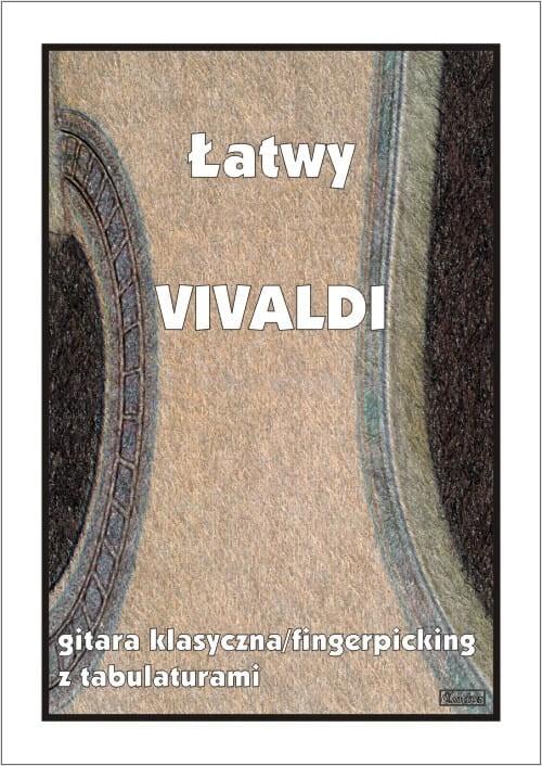 Łatwy Vivaldi - nuty na gitarę klasyczną (fingerpicking) z tabulaturami