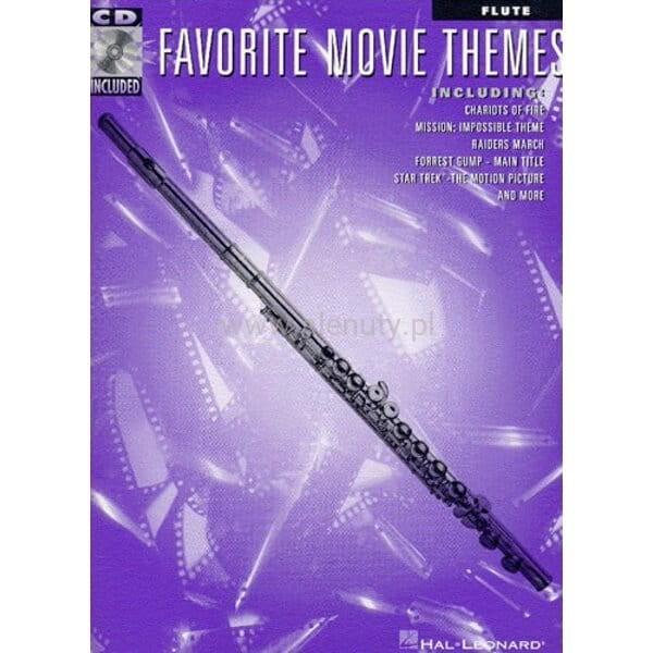 Favorite Movie Themes Flute Płyta Cd Muzyka Filmowa Na Flet