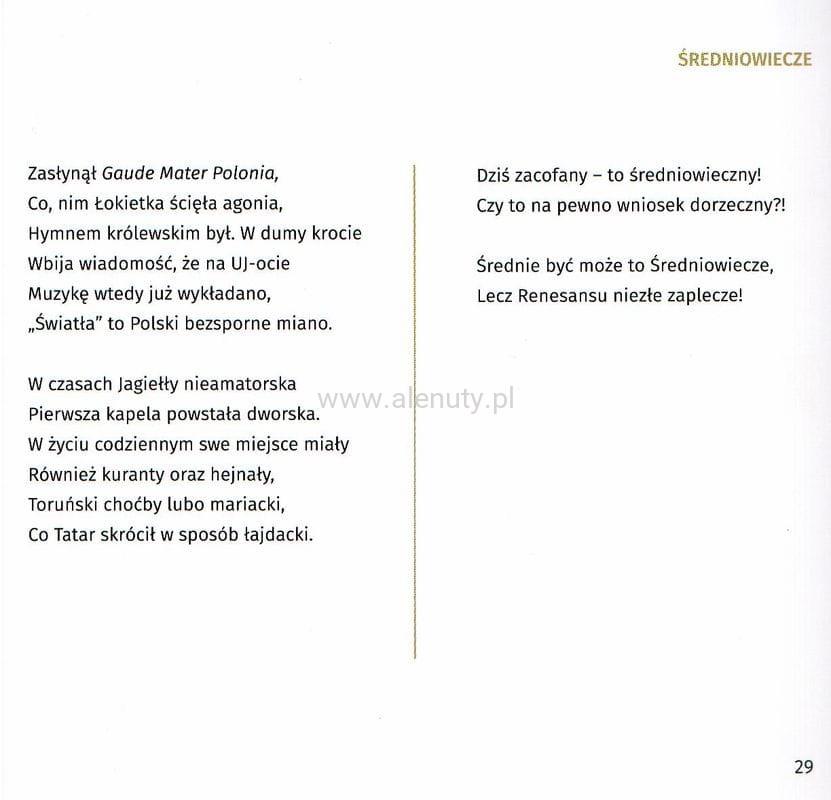 Z Historii Muzyki Dla Wszystkich Wierszyki Wasowski Gonzales