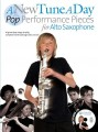 A New Tune A Day: Pop Performance Pieces for Alto Saxophone - nuty na saksofon altowy (+ płyta CD)