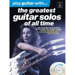 Play Guitar With The Greatest Guitar Solos Of All Time - nuty na gitarę (+ płyta CD)