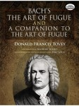 Bach's The Art Of Fugue and A Companion To The Art Of Fugue - nuty na organy
