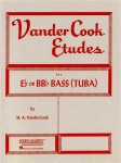 Vandercook - Etudes For Eb or BBb Bass (Tuba) - 77 etiud na tubę solo