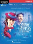 Mary Poppins Returns: Cello - nuty na wiolonczelę (+ audio online)