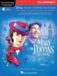 Mary Poppins Returns: Clarinet - nuty na klarnet (+ audio online)
