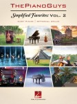 The Piano Guys: Simplified Favorites Vol. 2 - nuty na fortepian + partia wiolonczeli