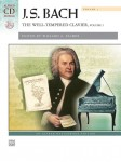 Bach J.S. - The Well-Tempered Clavier Volume I (+ płyta CD) - 24 preludia i fugi Bacha na fortepian (Willard Palmer)