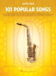 101 Popular Songs: Alto Sax - nuty na saksofon altowy