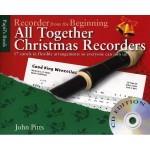 Recorder From The Beginning - All Together Christmas Recorders - John Pitts - kolędy na flet prosty (+ płyta CD)