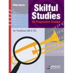 Sparke - Skilful Studies - 40 Progressive Studies for Trombone (BC & TC) - etiudy na puzon