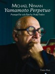 Michael Nyman: Yamamoto Perpetuo for solo Flute - nuty na flet solo