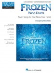 Popular Songs: Frozen Piano Duets - nuty na fortepian na cztery ręce