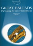 Guest Spot: Great Ballads Playalong For Tenor Saxophone - nuty na saksofon tenorowy (+ płyta CD)