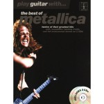 Play Guitar With... The Best Of Metallica - nuty na gitarę z tabulaturą (+ 2 płyty CD)