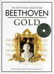The Easy Piano Collection: Beethoven Gold (+ płyta CD) - łatwe nuty na fortepian