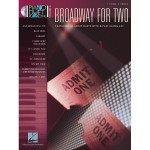 Piano Duet Play-Along Vol. 3: Broadway For Two (+ płyta CD) - nuty na fortepian na cztery ręce