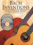 Bach Inventions for Guitar Duet - duety gitarowe (+ 2 płyty CD)