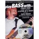Play Bass with Linkin Park, Limp Bizkit, System of a Down, P.O.D., Papa Roach, Marilyn Manson