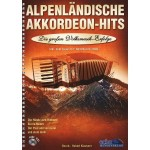 Alpenlandische Akkordeon Hits - nuty na akordeon (+ płyta CD) - Hubert Klausner