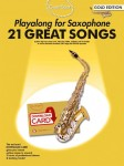 Guest Spot: 21 Great Songs - Playalong For Saxophone - nuty na saksofon altowy (+ audio online)