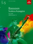 Bassoon Scales & Arpeggios, ABRSM Grades 1-5 from 2018 - gamy, pasaże na fagot