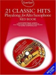 Guest Spot: 21 Classic Hits Playalong For Alto Saxophone - Red Book (+ 2 płyty CD) - nuty na saksofon altowy