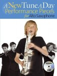 A New Tune A Day: Performance Pieces for Alto Saxophone - nuty na saksofon altowy (+ płyta CD)