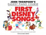John Thompson's Easiest Piano Course: First Disney Songs - łatwe nuty na fortepian dla dzieci
