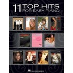 11 Top Hits For Easy Piano - nuty na fortepian