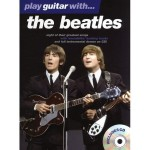 Play Guitar With The Beatles - nuty na gitarę z tabulaturą (+ płyta CD)