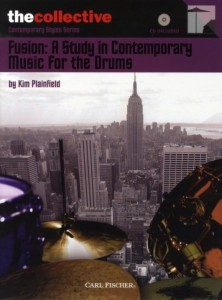 Fusion: A Study In Contemporary Music For The Drums (+ płyta CD) - Kim Plainfield - nuty na perkusję