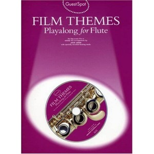 Guest Spot: Film Themes Playalong For Flute - nuty na flet (+ płyta CD)
