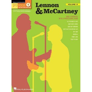 Pro Vocal Men's Edition Volume 19 - Lennon & McCartney Volume 2  - nuty na głos z tekstem i akordami gitarowymi (+ płyta CD)