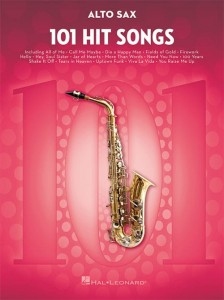 101 Hit Songs: Alto Sax - nuty na saksofon altowy