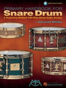Garwood Whaley: Primary Handbook For Snare Drum (+ audio online) - szkoła gry na werblu