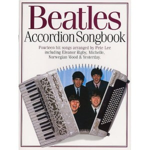 Beatles Accordion Songbook - nuty na akordeon