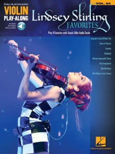 Lindsey Stirling Favorites - Violin Play-Along Volume 64 - nuty na skrzypce (+ audio online)
