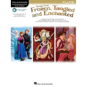 Songs From Frozen, Tangled And Enchanted: Flute - nuty na flet poprzeczny (+ audio online)