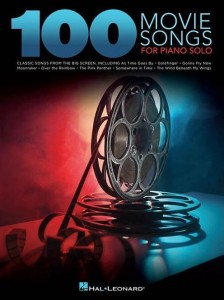 100 Movie Songs for Piano Solo - melodie filmowe na fortepian solo