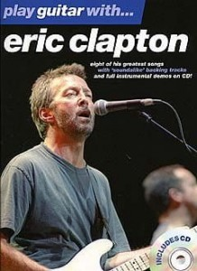 Play Guitar with Eric Clapton - nuty na gitarę z tabulaturą (+ płyta CD)
