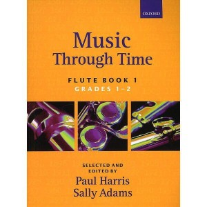Music Through Time Flute Book 1 - nuty na flet z akompaniamentem