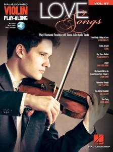 Love Songs - Violin Play-Along Volume 67 - nuty na skrzypce (+ audio online)
